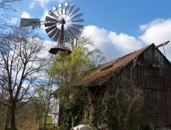 Historische Windkraftanlage Rottenacker